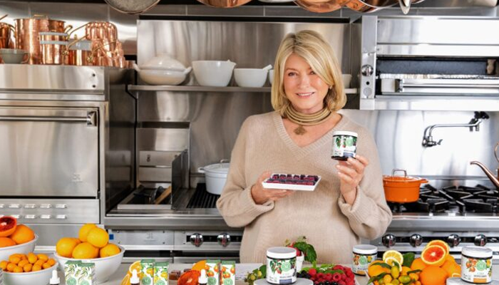 Canopy Growth launches new line of Martha Stewart CBD products