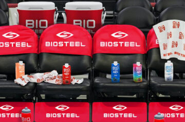 Canopy Growth-backed BioSteel the official drink of the NBA's 76ers
